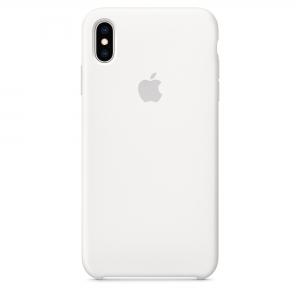 Silicone Case iPhone XS MAX white MLQK2FE/A (blistr)
