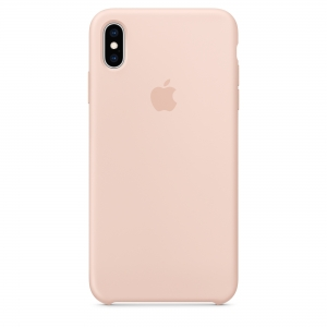 Silicone Case iPhone XS MAX pink sand MTFD2FE/A (blistr)