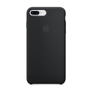 Silicone Case iPhone 7 PLUS, 8 PLUS black MMQR2FE/A (blistr)