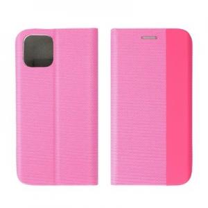 Pouzdro Sensitive Book Samsung A526B Galaxy A52 5G, A52 LTE 4G barva růžová