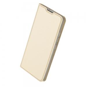 Pouzdro Dux Duxis Skin Pro Samsung G991B Galaxy S21 5G, barva zlatá