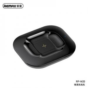 Indukční nabíječ pro AirPods, Remax RP-W20, 10W barva černá
