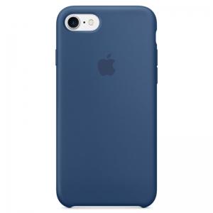 Silicone Case iPhone 7, 8, SE (2020) ocean blue MMQX2FE/A (blistr)