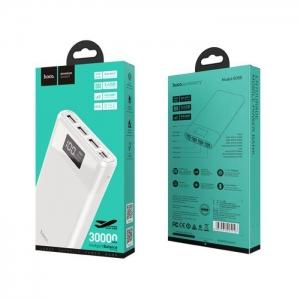 POWER Bank HOCO Intelligent Balance B35E - 30000mAh 3xUSB barva bílá