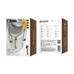 Bluetooth headset BOROFONE BE10, Bluetooth + HF, barva zlatá