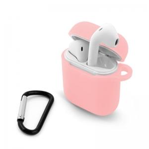 Pouzdro pro Apple AirPods I/II růžová
