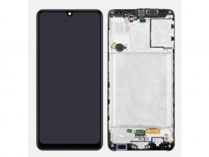 Dotyková deska Samsung A315 Galaxy A31 + LCD + rámeček black Service Pack - originál