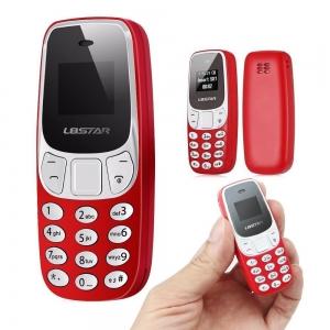 Mini mobilní telefon L8STAR BM10 barva červená
