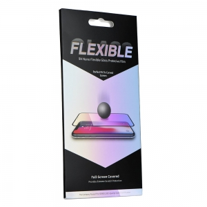 Tvrzené sklo 5D FLEXIBLE NANO Samsung A125 Galaxy A12 černá