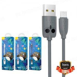 Datový kabel HOCO KX1 (Sovička) micro USB Typ C barva černá