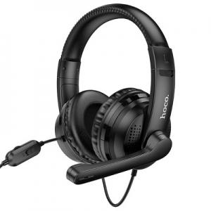 Bluetooth Sluchátka HOCO W103 Gaming, barva černá