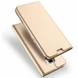 Pouzdro Dux Duxis Skin Pro Huawei P Smart (2021), barva zlatá