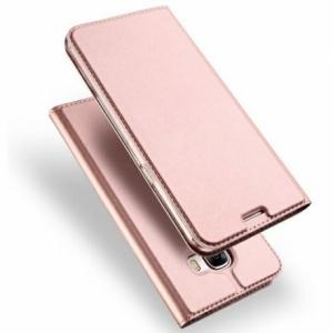Pouzdro Dux Duxis Skin Pro Huawei P Smart (2021), barva rose gold