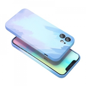 Pouzdro Back Case POP iPhone 12 (6,1), barva modrá
