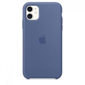 Silicone Case iPhone 11 linen blue MZ1F2FE/A (blistr)