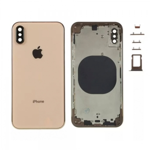 Kryt baterie + střední iPhone XS (5,8) originál barva gold
