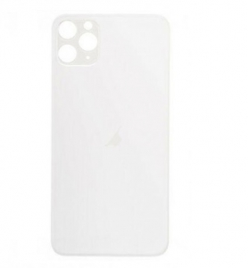 Kryt baterie iPhone 11 PRO MAX (6,5) barva silver - Bigger Hole