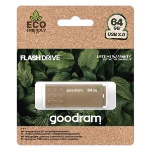 USB Flash Disk (PenDrive) GOODRAM UME3, 64GB USB 3.0 Eco Friendly