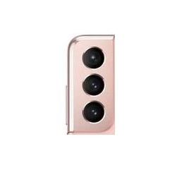 Sklíčko zadní kamery Samsung G991 Galaxy S21 5G pink
