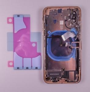 Kryt baterie + střední iPhone XS (5,8) originál barva gold - OSAZENÝ