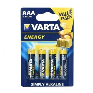 Baterie ALKALINE VARTA R3 (AAA) 4pcs Energy