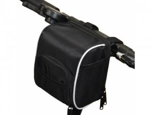 Držák na kolo (řídítka) kapsa, barva černá