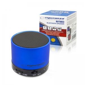 Mini reproduktor BlueTooth Esperanza Ritmo, barva modrá