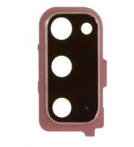 Sklíčko zadní kamery Samsung G980 Galaxy S20 pink