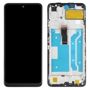 Dotyková deska Huawei P SMART 2021, Honor 10X Lite + LCD s rámečkem černá