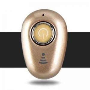 Bluetooth headset Smart MINI barva gold
