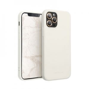 Pouzdro Roar Space iPhone 12, 12 Pro (6,1), barva krémová