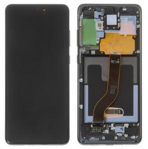 Dotyková deska Samsung G985 Galaxy S20 Plus + LCD black Service Pack - originál