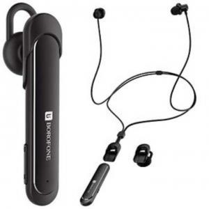 Bluetooth headset BOROFONE BE10, Bluetooth + HF, barva černá