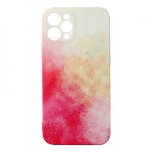 Pouzdro Back Case POP iPhone 12 (6,1), barva červená