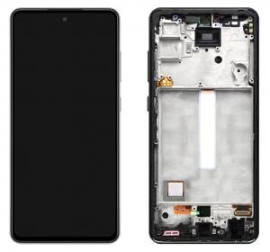 Dotyková deska Samsung A526, A525 Galaxy A52 5G, A52 + LCD black Service Pack - originál