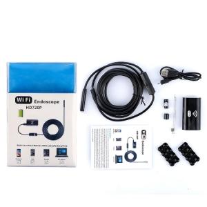 Inspekční (endoskopická) kamera 3v1, WiFi, průměr 8mm