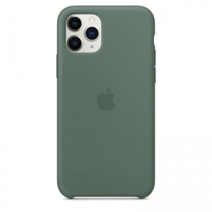 Silicone Case iPhone 11 pine green MWY02FE/A (blistr)