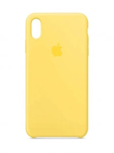 Silicone Case iPhone X, XS canary yellow MTR12FE/A (blistr)