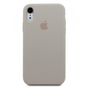 Silicone Case iPhone X, XS stone MRXK2FE/A (blistr)