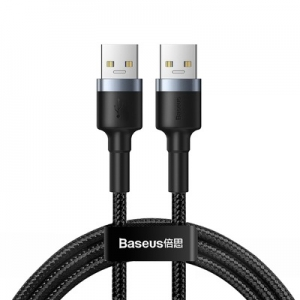 Baseus prodlužovací kabel samec USB 3.0 na samec USB 3.0 2A, 1M barva černá
