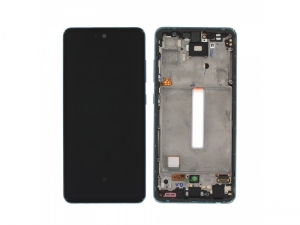 Dotyková deska Samsung A526, A525 Galaxy A52 5G, A52 + LCD blue Service Pack - originál