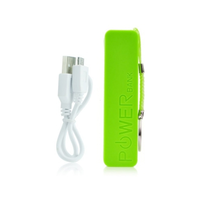 Externí baterie POWER BANK BLUN - Perfume zelená 2600 mAh