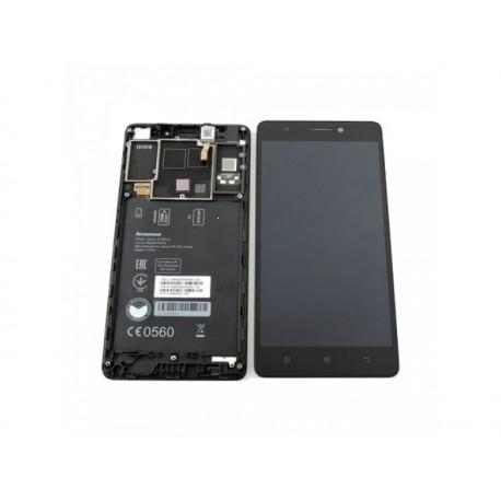 Dotyková deska Lenovo A7000 + LCD s rámečkem černá