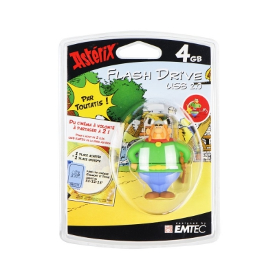 USB Flash Disk (PenDrive) ASTERIX Gal 4GB