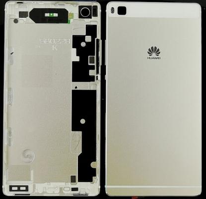Huawei P8 kryt baterie originál + boční tlačítka bílá