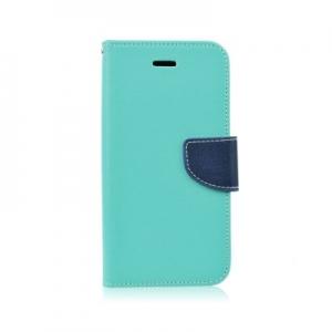 Pouzdro FANCY Diary Huawei MATE 9 barva světle modrá/modrá