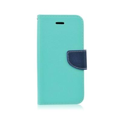 Pouzdro FANCY Diary TelOne Huawei P8 Lite (2017), P9 Lite (2017), Honor 8 Lite barva světle modrá/modrá