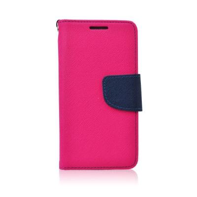 Pouzdro FANCY Diary TelOne LG X-CAM barva růžová/modrá