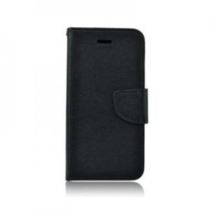 Pouzdro FANCY Diary Samsung G900 Galaxy S5 barva černá/hnědá