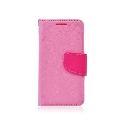 Pouzdro FANCY Diary TelOne Samsung G930 Galaxy S7 barva světle růžová/růžová